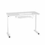 Gidget I Sewing Table (601) from Arrow Sewing Furniture with lift down for sewing machine