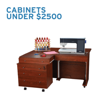 Sewing Cabinets under $2,500 from Arrow Sewing