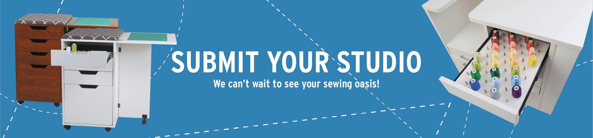 Upload an image of your sewing studio