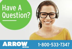 Contact Arrow Sewing Customer Service Team